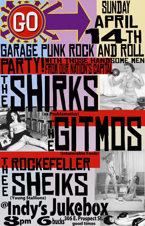 The Gitmos LIVE on April 14th!